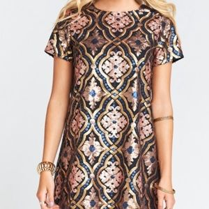 ⭐️ Mumu Sequin Dress